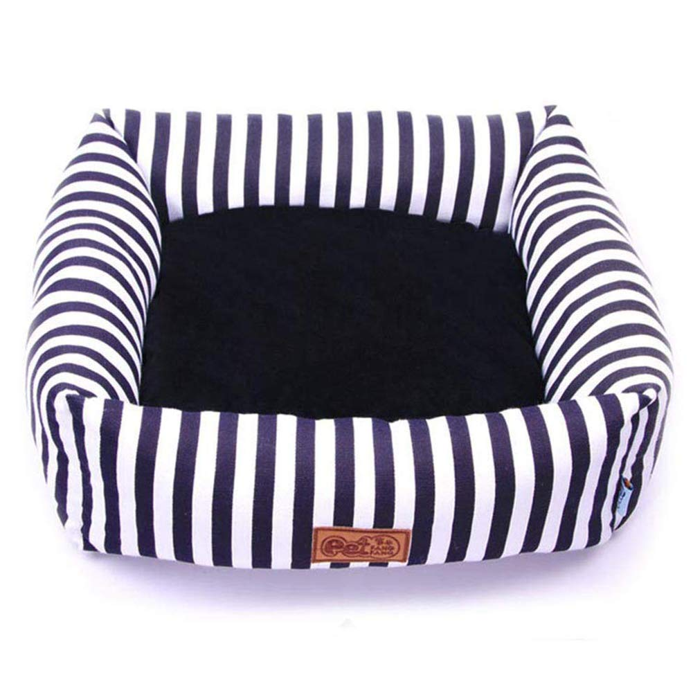 Large Cat Bed Kennel Soft Dog Mats Puppy Dog Bed Pet House Cozy Nest Kitten Pad Thick Warm Pet Cushion Autumn Winter