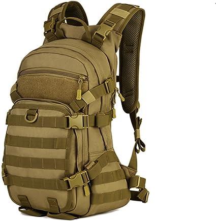 Mochila Tactica militar 30L para Viajar Caza Camping Senderismo Color Negro