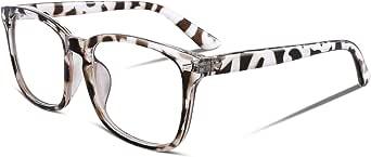 FEISEDY Stylish Square Non Prescription Eyeglasses Clear Lens Unisex Eyewear B2286