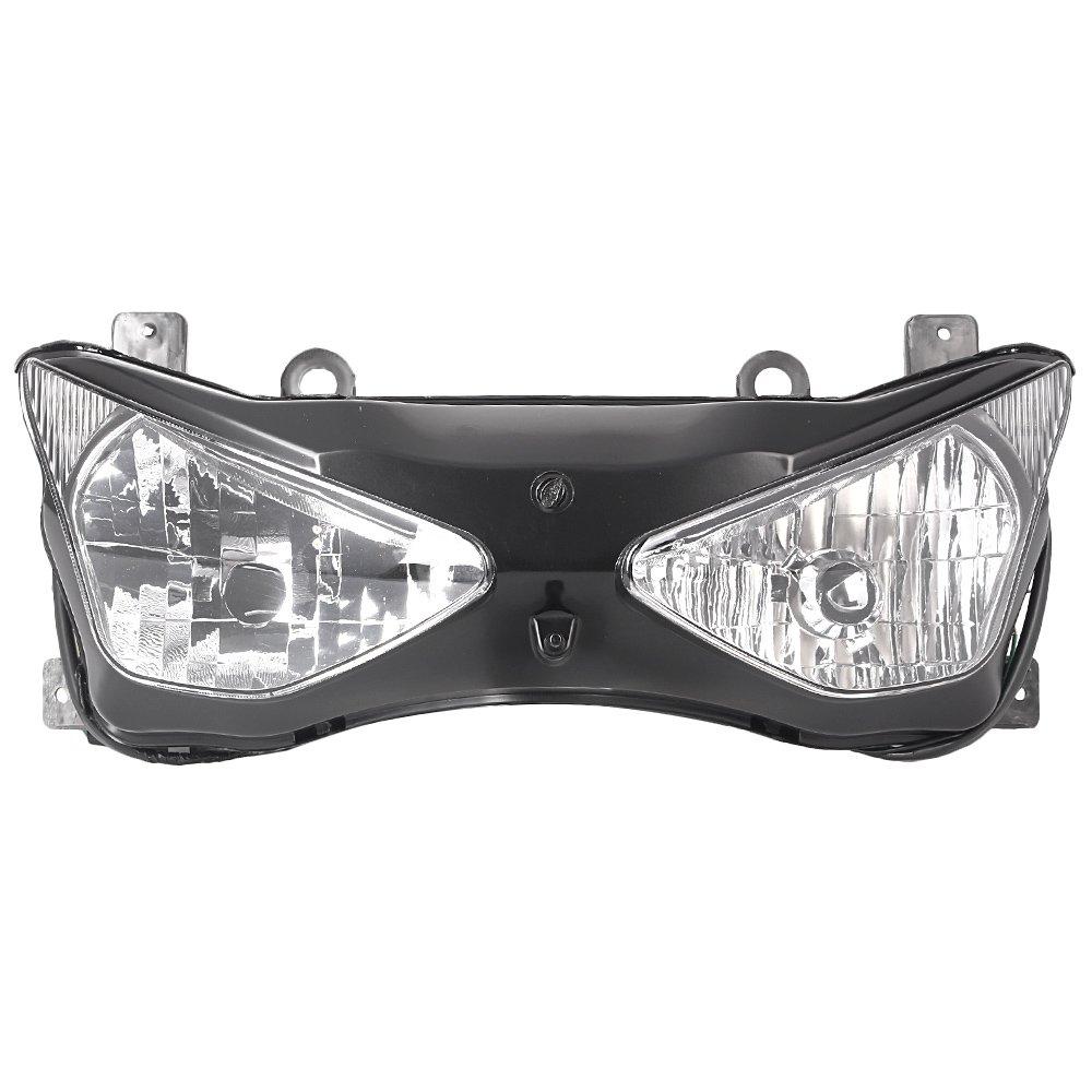 Amazon.com: GZYF New Motorcycle Front Headlight Head Lamp ...