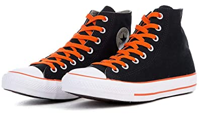 2174617fcbdd Image Unavailable. Image not available for. Color  Converse Unisex Chuck  Taylor® All Star® Color Plus Hi Black Old Silver