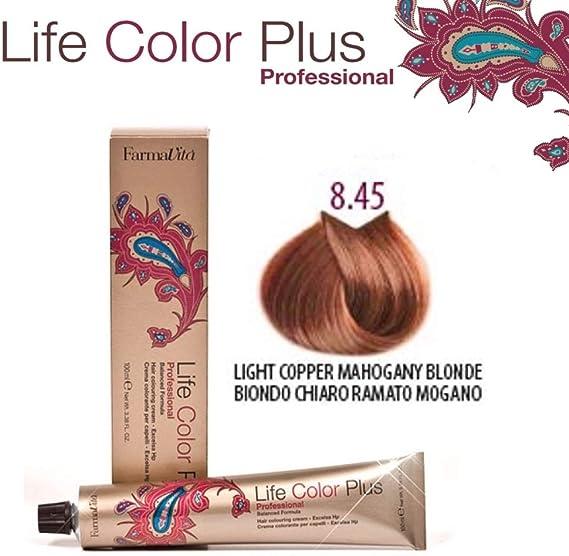 FarmaVita Life Color Plus Tinte Capilar 8.45-90 ml: Amazon.es ...