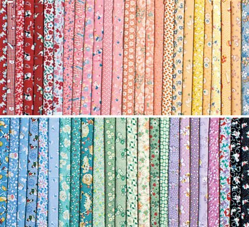 1930s Fat Quarter Quilt Fabric Collection -