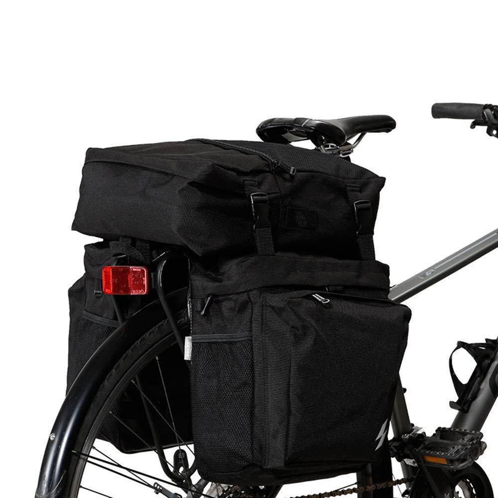 Sunbobo Bike Pannier Trunk Bag, große Kapazität Fahrrad Rear Seat Pannier Fit für Radfahren Aufbewahrungstasche