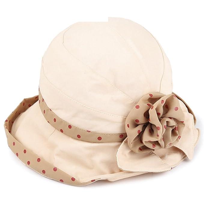 Sombrero Señora versión coreana de la visera en el otoño Sombrero para el  sol  sombrero de la playa de viaje plegable Sombrero del cubo Boina  Sombreros ... e5d7cfe1374