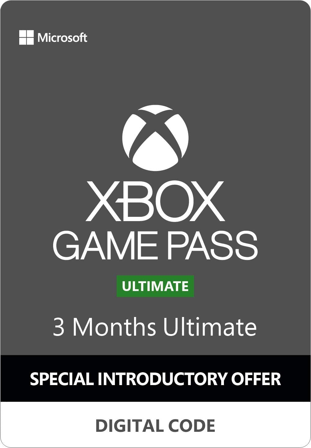 Amazoncom Xbox Game Pass Ultimate 3 Months Digital Code
