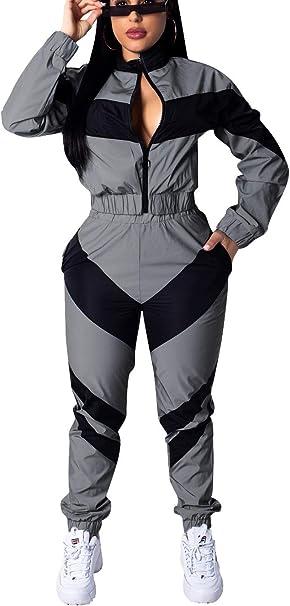 Amazon.com: Bluewolfsea - Conjunto de chaqueta cortavientos ...