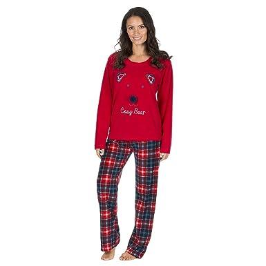 Daisy Dreamer Ladies Christmas Fleece Pyjamas 3664fdf4e