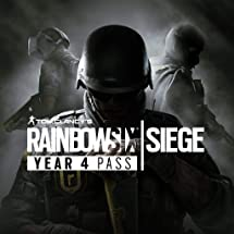 Amazon com: Tom Clancy's Rainbow Six Siege Year 4 Pass - PS4