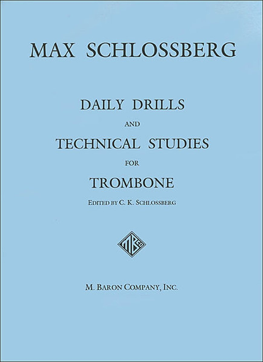 Amazon.com: Daily Drills and Technical Studies for Trombone ...