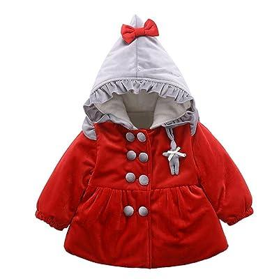 5d7ec20f4 Lanpan Autumn Winter Cute Kids Hooded Coat Cloak Warm Clothes ...