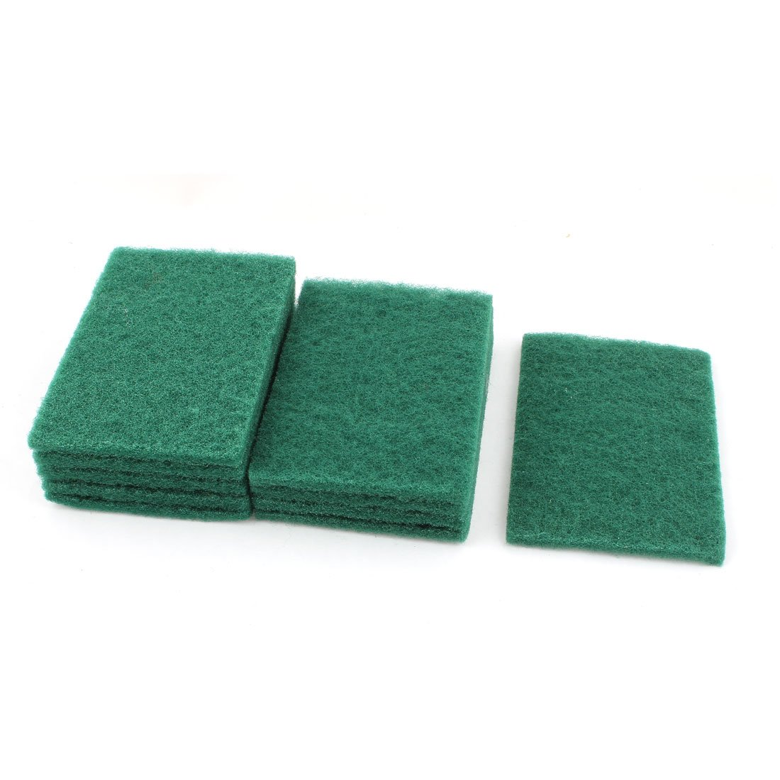 20 Pc Round Scouring Pads Sponge Wash Clean Kitchen Dishes Cleaner Scour Scrub
