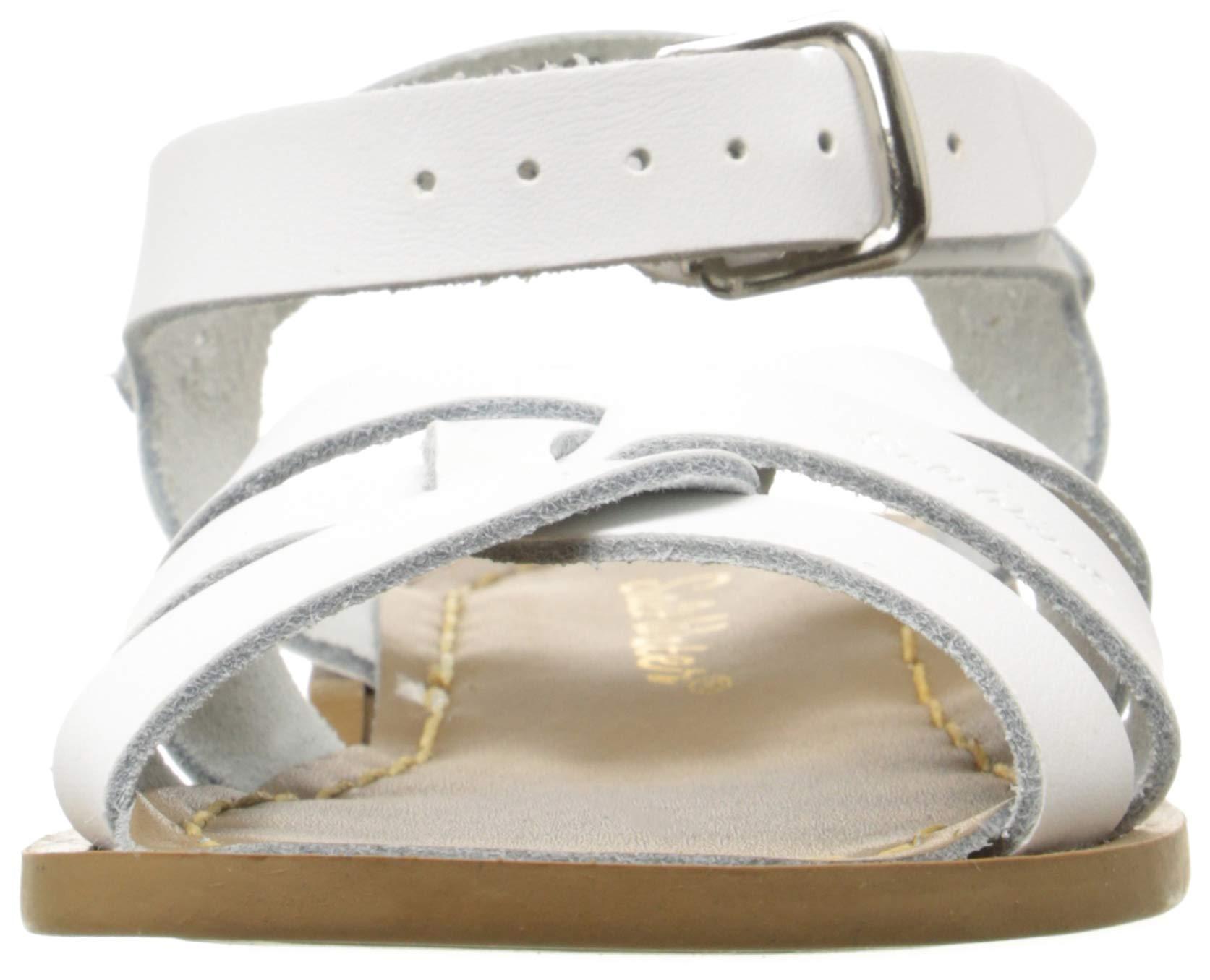 Salt Water Sandals by Hoy Shoe Original Sandal (Toddler/Little Kid/Big Kid/Women's), White, 13 M US Little Kid by Salt Water Sandals (Image #4)