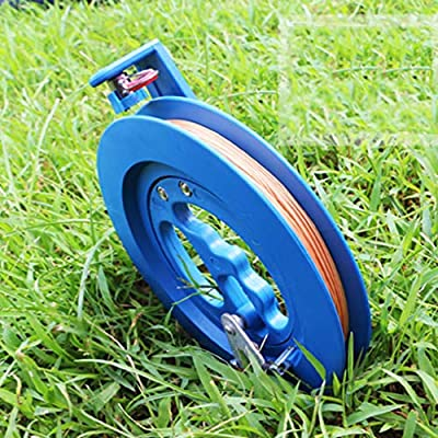 15/18cm Kite Line Reel Winder 100/200M String Wheel Flying Handle Tool Twisted String Line Round Grip, blue, 15cm: Everything Else
