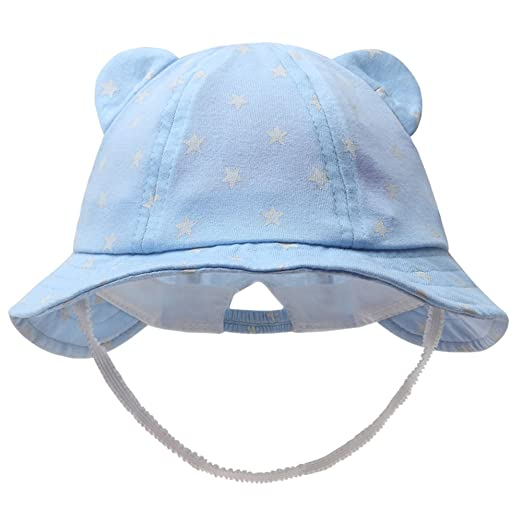 Amazon.com  vivobiniya Newborn Boy Summer Hats Baby Sun Hats Little Bear  Baseball Cap 0-4y  Clothing f0e0bb41f613