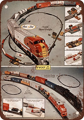 1971-tyco-electric-toy-trains-vintage-look-reproduction-metal-signs-12x16-inches