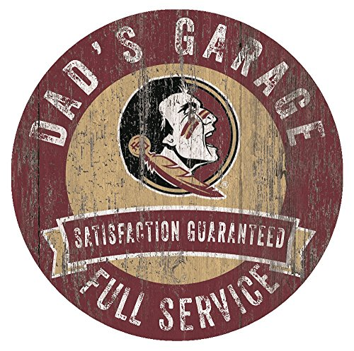 Florida State Seminoles Dad's Garage 12
