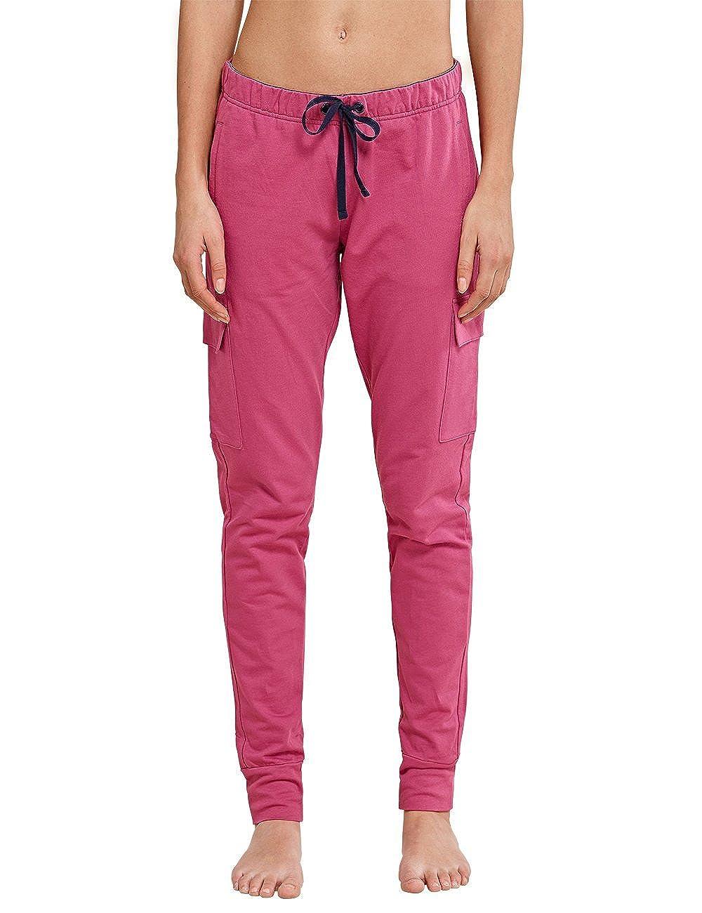Schiesser Uncover Sweat Pants Parte Inferior del Pijama para Mujer