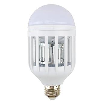 Bombilla Xiton Boca Tornillo de luz LED Insecticida eléctrico Bug Zapper del mosquito Trampa 110V 15W