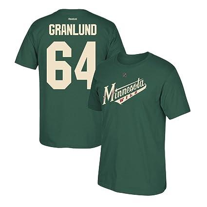 brand new 4fe3a 3d431 Amazon.com : adidas Mikael Granlund Reebok Minnesota Wild ...