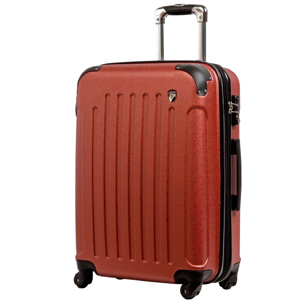 [グリフィンランド]_Griffinland TSAロック搭載 スーツケース 超軽量 マット加工 newFK10371 ファスナー開閉式 B071G2352F MS型|バーミリオン バーミリオン MS型