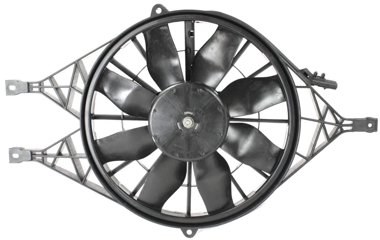 Garage-Pro Cooling Fan Assembly for DODGE DAKOTA 1997-2004/DURANGO 2000-2002
