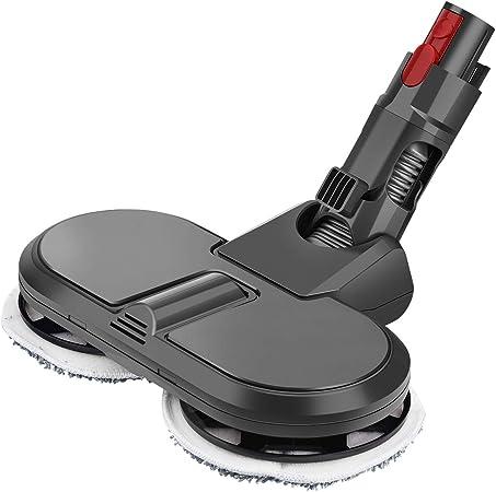 MoPei Accesorio de Cabeza de mopa eléctrica para aspiradora Dyson V7 V8 V10 V11(Gris): Amazon.es: Hogar