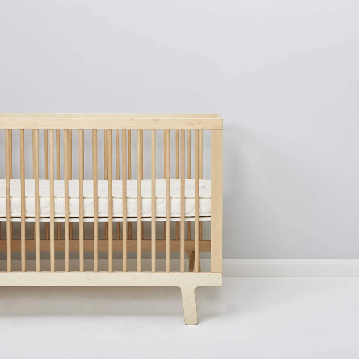 to fit Mamas and Papas - 69 x 139 cm The Little Green Sheep Natural Twist Cotbed Mattress