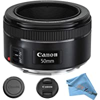 Canon EF 50mm f/1.8 STM Prime Lens ZeeTech Package (Cloth Only)