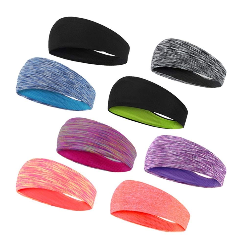 Performance Stretch /& Feuchtigkeitstransport for Laufen trainieren Gym ZREED Stirnband for Frauen Unisex