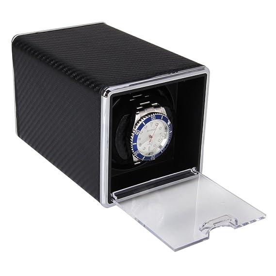 critiron Coffret Watch Winder de rectangular automática tiscer Reloj Clasico - Expositor para un reloj: Amazon.es: Relojes
