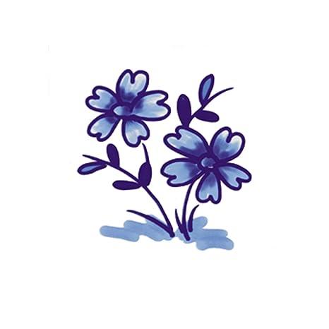 Smile P1730 Beautiful Tiles Decora Azulejos, flores dibujo