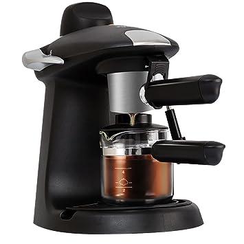 Semi automática máquina de café espresso máquinas de café casera de alta presión vapor de cafetera: Amazon.es: Hogar