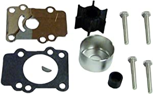 Water Pump Impeller Kit for Yamaha 9.9 15 hp 1984-1996 2 & 4 Stroke Outboard Replaces 682-W0078-A1-00 18-3148 Please Read Product Description for Exact Apllications