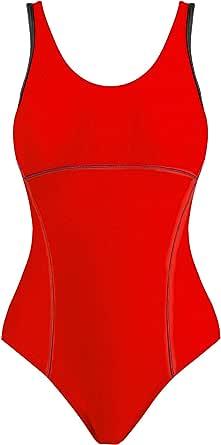 Joyaria Women's One Piece Athletic Swimsuits Sports Racerback Swimwear Racing Training Bathing Suit