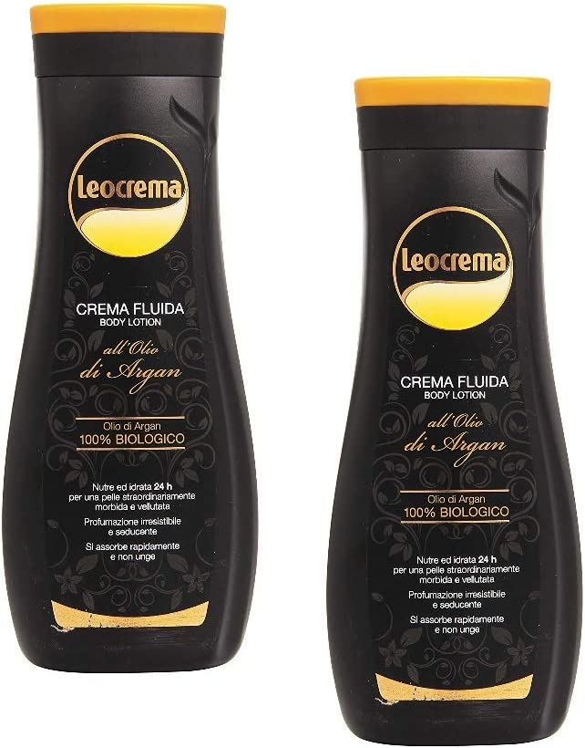 Leocrema Pack 2 Pezzi Crema Corpo Fluida All Olio Di Argan 400 Ml Fair Amazon It Bellezza