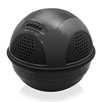Pyle Aqua Sunblast HautParleur Flottant Bluetooth Pour Piscine Noir