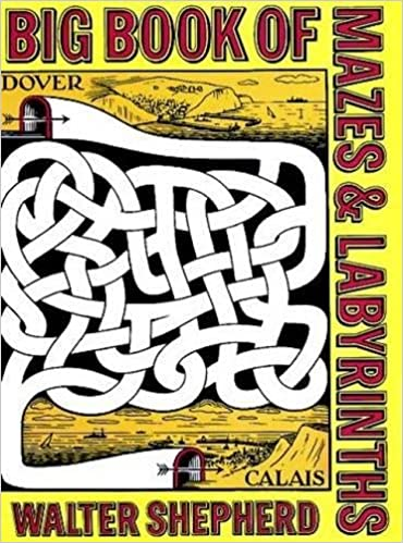 Eazy Mazes Activity Book For Kids - Vol. 4 (Kids Fun Activity Books Series)