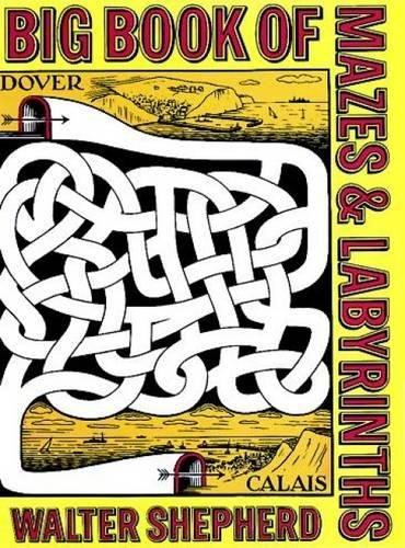 Mazes Labyrinths Dover Childrens Activity product image