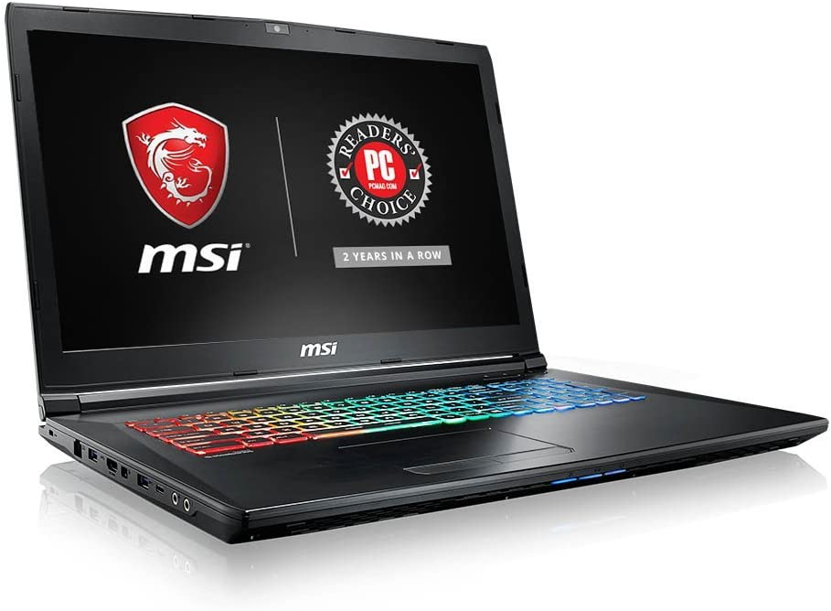 "MSI GP62MVRX Leopard Pro-661 15.6"" 94%NTSC Thin and Light Gaming Laptop GTX 1060 3G Core i7-7700HQ 16GB 256GB NVMe SSD + 1TB Full Color Keyboard (Renewed)"