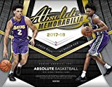 2017-18 Absolute Basketball Hobby Box (2 Packs/3 Cards: 2 Uncirculated, 2 Autographs, 2 Memorabilia)