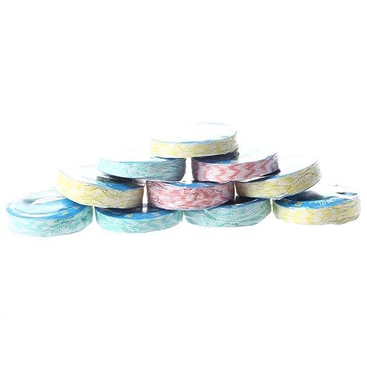 Toallas - SODIAL(R) 10pzs Toallas de viaje comprimidas magicas Toallitas no tejidas: Amazon.es: Hogar