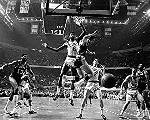 Bill russell coloring pages ~ Boston Celtics vs. LA Lakers in 1969, w/ Wilt Chamberlain ...