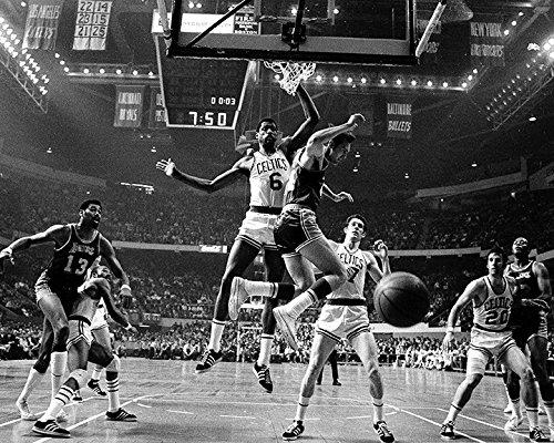 - Boston Celtics vs. LA Lakers in 1969, w/ Wilt Chamberlain and Bill Russell 8x10 Photo, Picture.