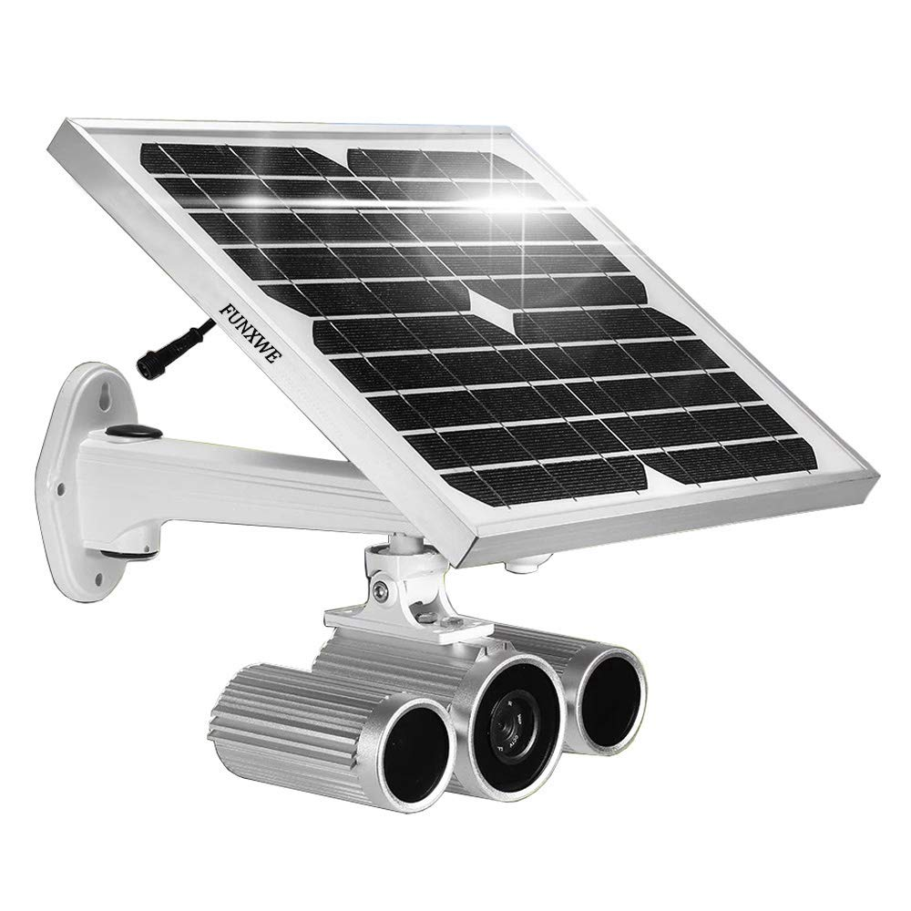 Funxwe Full HD Solar Power WIFI IP Camera 1080P