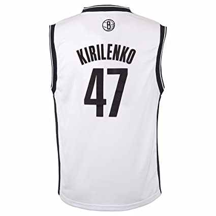 dbfa4201c ... cheap adidas andrei kirilenko brooklyn nets nba boys white official  home replica basketball jersey 5 c6dce