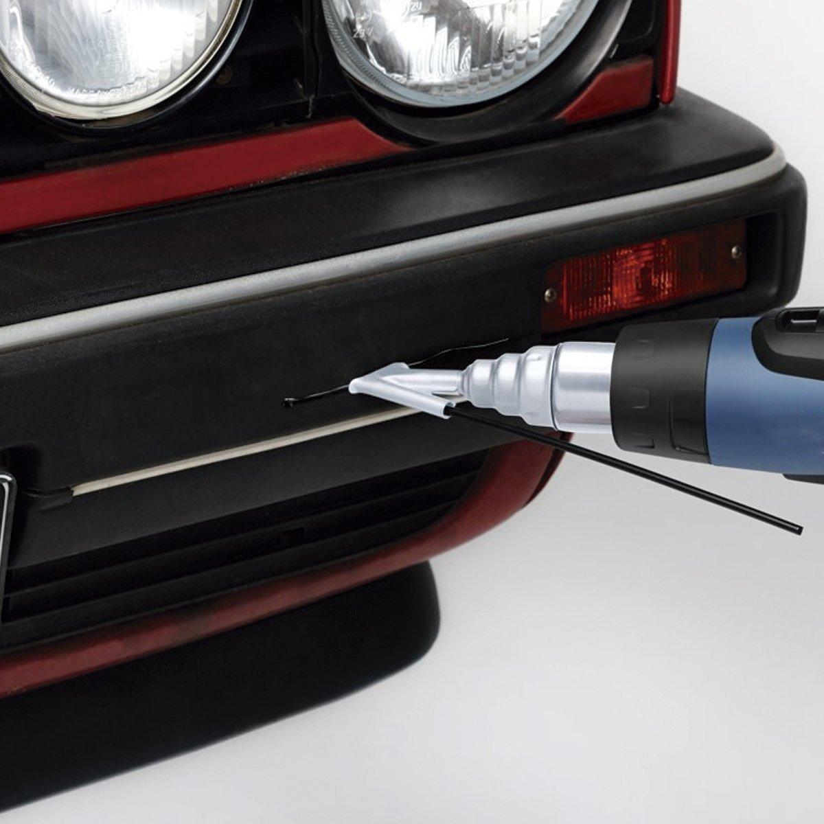 100GR PP POLIPROPILENO soldadura triangular negro para soldar plástico paragolpes coche - PROFESIONAL: Amazon.es: Bricolaje y herramientas