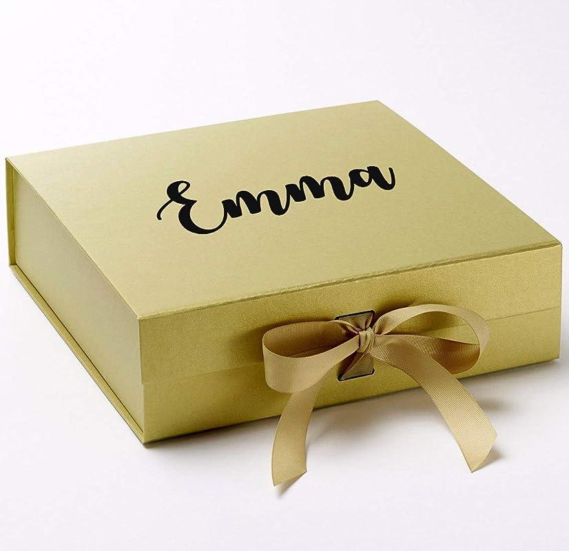 Medium Personalised Birthday Gift Box Anniversary