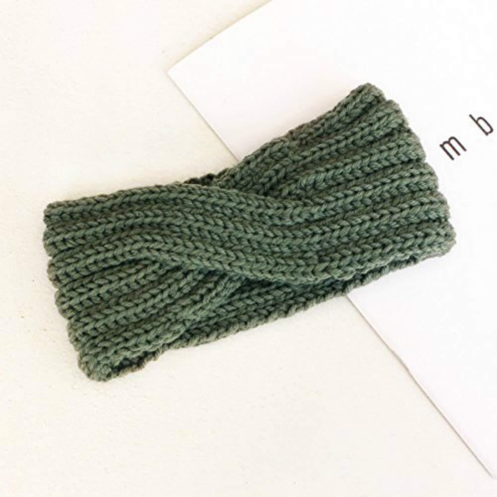 V-best Winter Gift/Women's Winter Knit Headband/Winter Crochet Bow Knitted Headband Hairband Hair