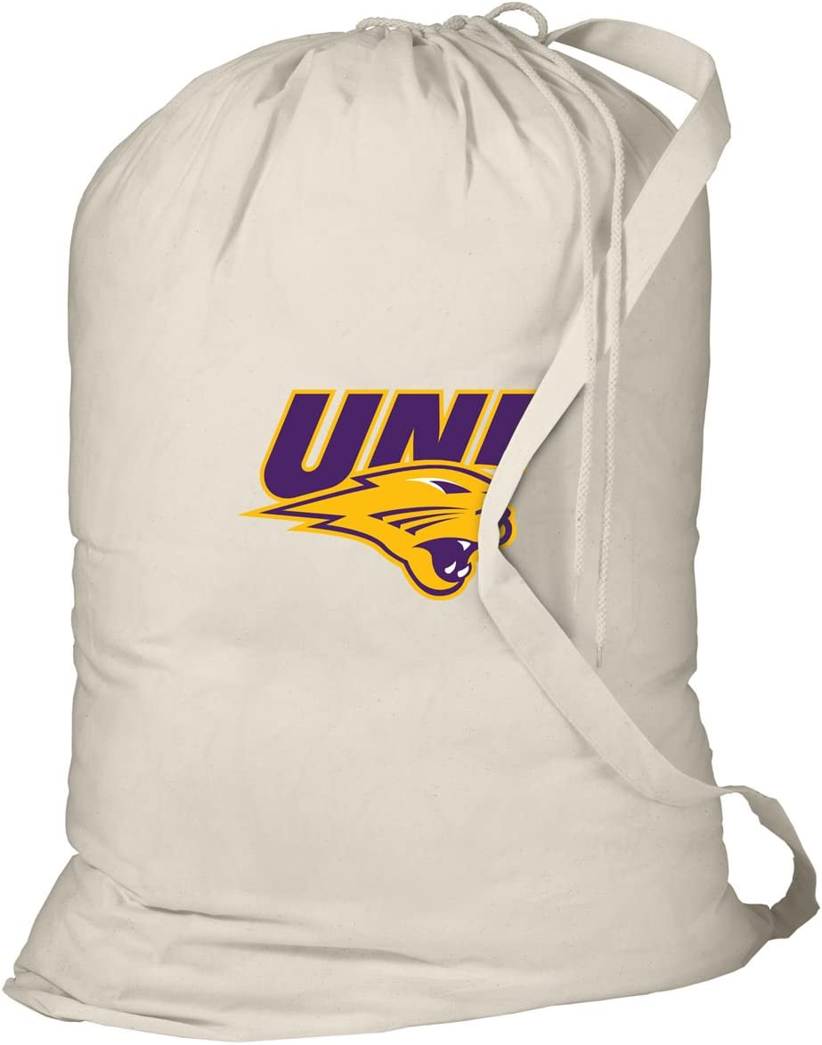 Broad Bay UNI Panthers Laundry Bag University of Northern Iowa Dirty Clothes Bag